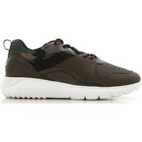 Pantofi Bărbați Pantofi sport Casual Hogan HXM3710AQ10JIU737D color Mimetico