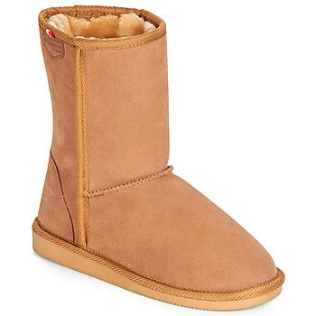 Pantofi Femei Ghete Les Tropéziennes par M Belarbi MOUNTAIN Camel
