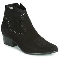 Pantofi Femei Botine Les Tropéziennes par M Belarbi ASTRID Negru