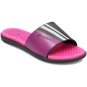 Pantofi Femei Șlapi Rider 8261122295 Negre,Roz