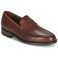Pantofi Bărbați Mocasini Barker JEVINGTON Bordo