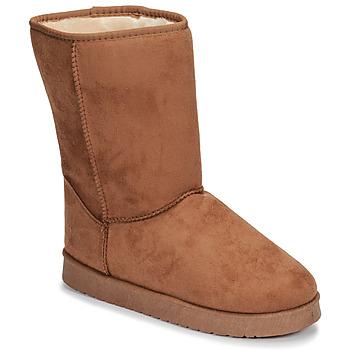 Pantofi Femei Ghete Spot on JULIA Bej