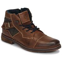 Pantofi Bărbați Ghete Bugatti ROLLAND Maro