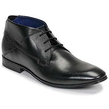 Pantofi Bărbați Ghete Bugatti ELVIS Negru