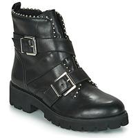 Pantofi Femei Ghete Steve Madden HOOFY Negru