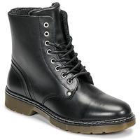 Pantofi Fete Ghete Bullboxer AHC501E6LC-BLBLK Negru