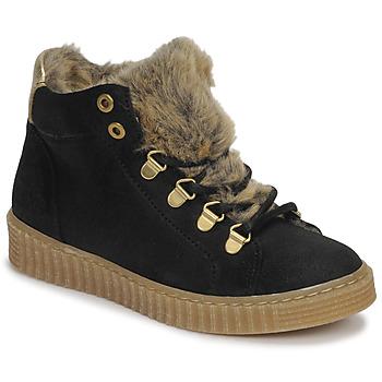 Pantofi Fete Pantofi sport stil gheata Bullboxer AIB504E6CA-BLCK Negru