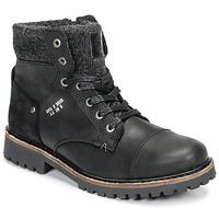 Pantofi Băieți Ghete Bullboxer AHA518E6L-BLCK Negru