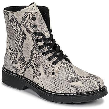 Pantofi Fete Ghete Bullboxer AHC501E6LEOF-WHKB Gri