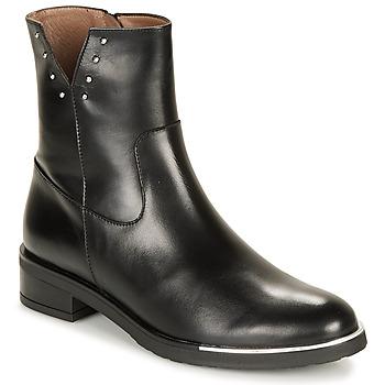 Pantofi Femei Ghete Wonders C5437-OREGON-NEGRO Negru