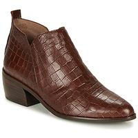 Pantofi Femei Ghete Wonders E6022-COCO-MARRON Maro