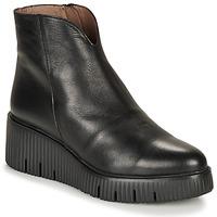 Pantofi Femei Ghete Wonders E6210-VELVET-NEGRO Negru