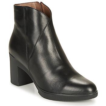Pantofi Femei Botine Wonders M3727-VELVET-NEGRO Negru