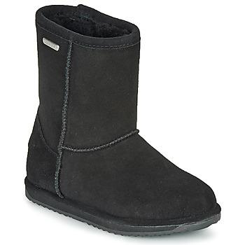 Pantofi Copii Ghete EMU BRUMBY LO WATERPROOF Negru