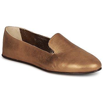 Pantofi Femei Mocasini Rochas NITOU Bronz
