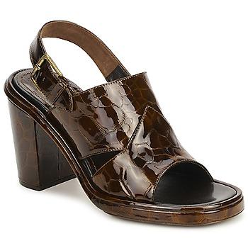 Pantofi Femei Sandale și Sandale cu talpă  joasă Rochas TARTAF Maro