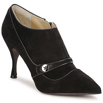 Pantofi Femei Botine Marc Jacobs MJ19138 Negru