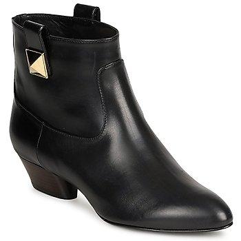 Pantofi Femei Botine Marc Jacobs MJ19102 Negru