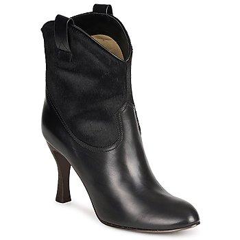 Pantofi Femei Botine Marc Jacobs MJ19064 Negru