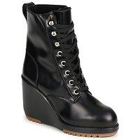 Pantofi Femei Botine Marc Jacobs MJ19142 Negru