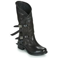 Pantofi Femei Cizme casual Airstep / A.S.98 ISPERIA BUCKLE Negru