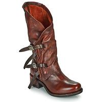 Pantofi Femei Cizme casual Airstep / A.S.98 ISPERIA BUCKLE Roșu