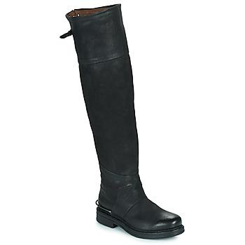 Pantofi Femei Cizme casual Airstep / A.S.98 BRET HIGH Negru