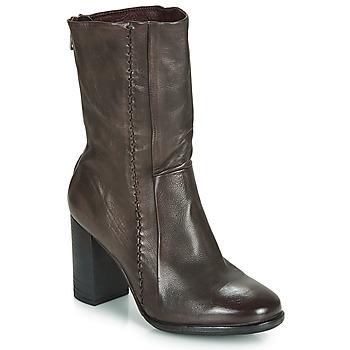 Pantofi Femei Botine Airstep / A.S.98 FRESH ZIP Gri / Culoare închisă