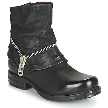 Pantofi Femei Ghete Airstep / A.S.98 SAINT EC ZIP NEW Negru