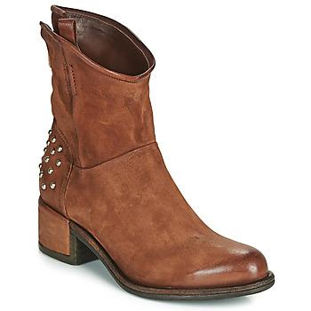Pantofi Femei Ghete Airstep / A.S.98 OPEA STUDS Camel