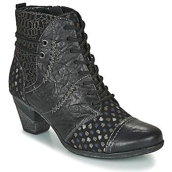 Pantofi Femei Botine Remonte Dorndorf D8786-06 Negru