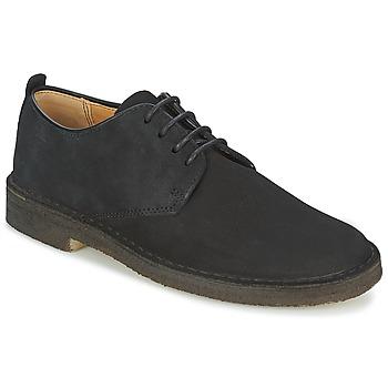 Pantofi Bărbați Pantofi Derby Clarks DESERT LONDON Negru