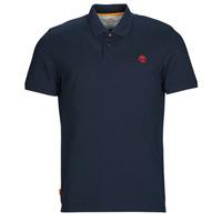 Îmbracaminte Bărbați Tricou Polo mânecă scurtă Timberland SS MR Polo Slim DARK SAPPHIRE Albastru