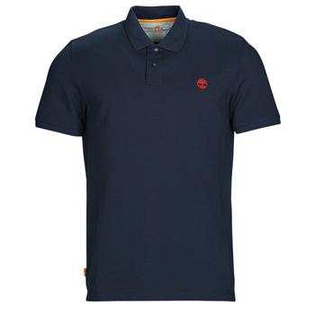 Îmbracaminte Bărbați Tricou Polo mânecă scurtă Timberland SS MR Polo Slim DARK SAPPHIRE Bleumarin