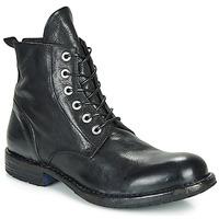 Pantofi Bărbați Ghete Moma CUSNA NERO Negru