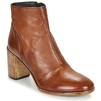 Pantofi Femei Botine Moma STELLA BRANDY Maro