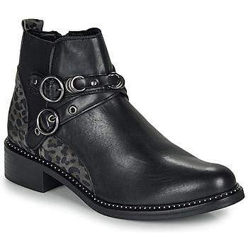 Pantofi Femei Ghete Regard ROABIL V2 METALCRIS Negru