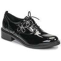 Pantofi Femei Pantofi Derby Regard ROAZU V2 VERNIS Negru