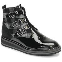 Pantofi Femei Ghete Regard ROCPOL V3 VERNIS Negru