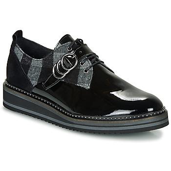 Pantofi Femei Pantofi Derby Regard ROCSI V3 VERNIS Negru