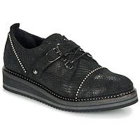 Pantofi Femei Pantofi Derby Regard ROCTALOX V2 TOUT SERPENTE SHABE Negru