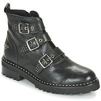 Pantofi Femei Ghete Philippe Morvan DRAFT V1 MAIA Negru