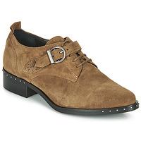 Pantofi Femei Pantofi Derby Philippe Morvan SAND V4 CRTE VEL Camel