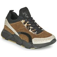 Pantofi Femei Pantofi sport Casual Philippe Morvan VERSO V2 GLITTER FIN Maro / Negru