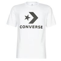 Îmbracaminte Bărbați Tricouri mânecă scurtă Converse STAR CHEVRON Alb