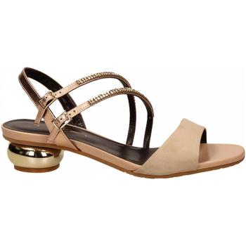 Pantofi Femei Sandale  Tiffi T1 AMALFI CAMEL / T2 ROSE RESTO CAMPIONE camel---rose