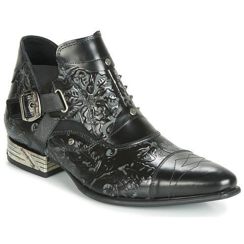 Pantofi Bărbați Pantofi Derby New Rock BRAVA Negru