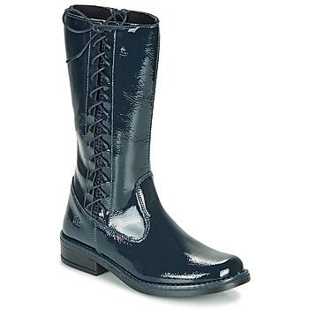 Pantofi Fete Cizme casual Citrouille et Compagnie LOUVETTE Albastru