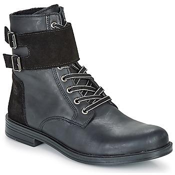 Pantofi Fete Ghete Citrouille et Compagnie LOMENE Negru