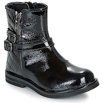Pantofi Fete Ghete Citrouille et Compagnie LIMIDOU Negru